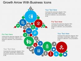 hy_growth_arrow_with_business_icons_flat_powerpoint_design_Slide01