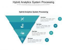 Hybrid Analytics System Processing Ppt Powerpoint Presentation Ideas Design Inspiration Cpb