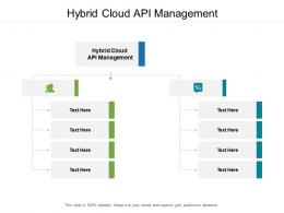 Hybrid Cloud API Management Ppt Powerpoint Presentation Pictures Styles Cpb