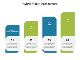 Hybrid Cloud Architecture Ppt Powerpoint Presentation Summary Elements Cpb