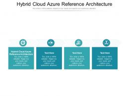Hybrid Cloud Azure Reference Architecture Ppt Powerpoint Presentation File Outfit Cpb