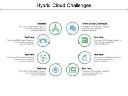 Hybrid Cloud Challenges Ppt Powerpoint Presentation Show Examples Cpb