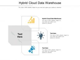 Hybrid Cloud Data Warehouse Ppt Powerpoint Presentation Model Template Cpb