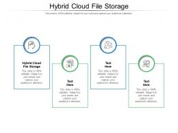 Hybrid Cloud File Storage Ppt Powerpoint Presentation Ideas Icons Cpb