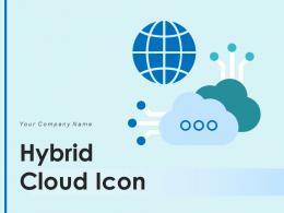 Hybrid Cloud Icon Enterprise Management Database Inventory Knowledge Requirement