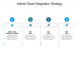 Hybrid Cloud Integration Strategy Ppt Powerpoint Presentation Summary Deck Cpb