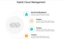 Hybrid Cloud Management Ppt Powerpoint Presentation Inspiration Information Cpb