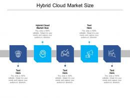 Hybrid Cloud Market Size Ppt Powerpoint Presentation Outline Background Images Cpb
