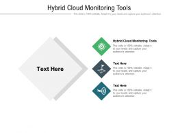 Hybrid Cloud Monitoring Tools Ppt Powerpoint Presentation Layouts Slide Portrait Cpb