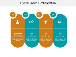 Hybrid Cloud Orchestration Ppt Powerpoint Presentation Summary Introduction Cpb
