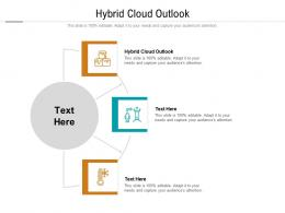 Hybrid Cloud Outlook Ppt Powerpoint Presentation Model Guidelines Cpb