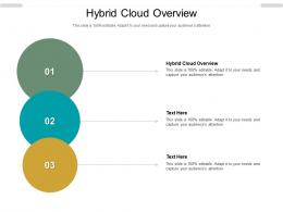 Hybrid Cloud Overview Ppt Powerpoint Presentation Infographic Template Graphics Example Cpb