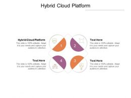 Hybrid Cloud Platform Ppt Powerpoint Presentation Infographics Good Cpb