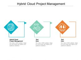 Hybrid Cloud Project Management Ppt Powerpoint Presentation Pictures Demonstration Cpb