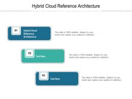 Hybrid Cloud Reference Architecture Ppt Powerpoint Presentation Infographics Slide Cpb