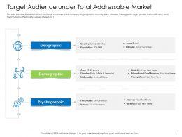 Hybrid Financing Target Audience Under Total Addressable Market Ppts Portfolio