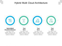 Hybrid Multi Cloud Architecture Ppt Powerpoint Presentation Gallery Sample Cpb