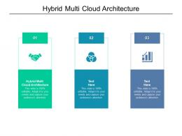 Hybrid Multi Cloud Architecture Ppt Powerpoint Presentation Infographic Template Show Cpb