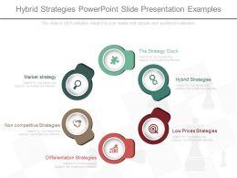 Hybrid Strategies Powerpoint Slide Presentation Examples