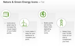 Hydro Power Project Windmill Power Symbol Grid Ppt Icons Graphics