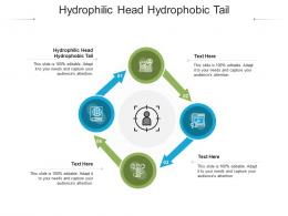 Hydrophilic Head Hydrophobic Tail Ppt Powerpoint Presentation Gallery Samples Cpb