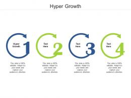 Hyper Growth Ppt Powerpoint Presentation Outline Structure Cpb