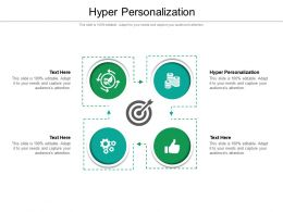 Hyper Personalization Ppt Powerpoint Presentation Styles Backgrounds Cpb