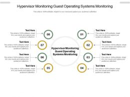 Hypervisor Monitoring Guest Operating Systems Monitoring Ppt Powerpoint Presentation Outline Cpb