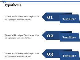 Hypothesis Ppt Professional