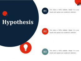 Hypothesis Ppt Slides Template