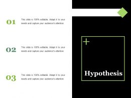 Hypothesis Ppt Summary Objects