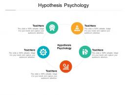 Hypothesis Psychology Ppt Powerpoint Presentation Styles Grid Cpb