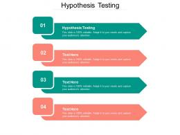 Hypothesis Testing Ppt Powerpoint Presentation Inspiration Templates Cpb