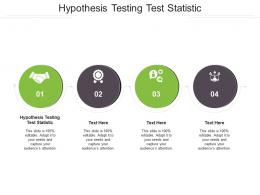 Hypothesis Testing Test Statistic Ppt Powerpoint Presentation Ideas Templates Cpb