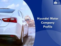 Hyundai Motor Company Profile Overview Financials And Statistics From 2014-2018