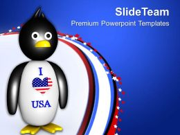 I Love United States Of America PowerPoint Templates PPT Themes And Graphics 0713
