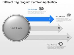 ia Different Tag Diagram For Web Application Powerpoint Template