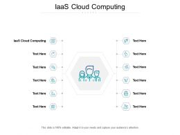 IaaS Cloud Computing Ppt Powerpoint Presentation Professional Example File Cpb
