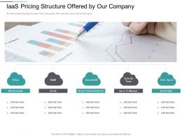 IaaS Pricing Structure Offered By Our Company Disk Space Ppt Powerpoint Presentation Ideas Slides