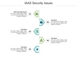 IAAS Security Issues Ppt Powerpoint Presentation Ideas Cpb