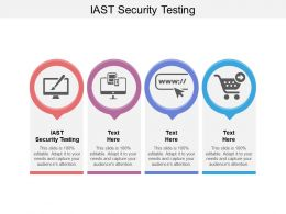 IAST Security Testing Ppt Powerpoint Presentation Icon Visuals Cpb