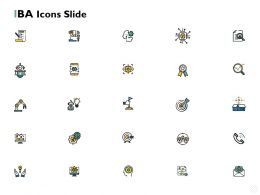 Iba Icons Slide Vision Ppt Powerpoint Presentation Diagram Ppt