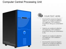 ic Computer Central Processing Unit Powerpoint Template