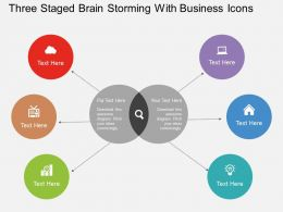 ic_three_staged_brain_storming_with_business_icons_flat_powerpoint_design_Slide01