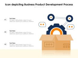 Icon Depicting Business Product Development Process