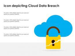 Icon Depicting Cloud Data Breach