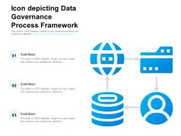 Icon Depicting Data Governance Process Framework