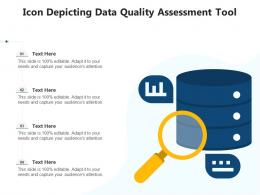 Icon Depicting Data Quality Assessment Tool
