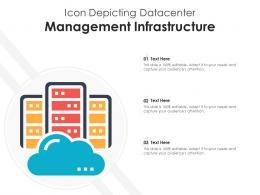 Icon Depicting Datacenter Management Infrastructure
