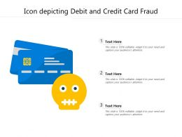 Icon Depicting Debit And Credit Card Fraud